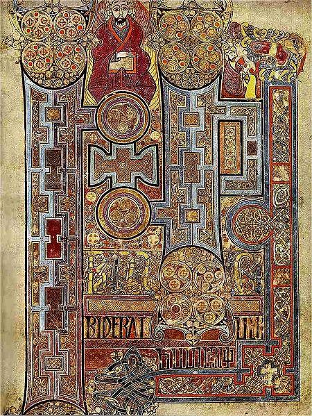 the Book Of Kells - New Testament