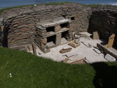 House 1 of Skara Brae
