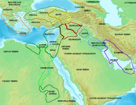 Amarna map