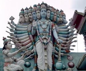 Krishna as Avatars_of_Vishnu