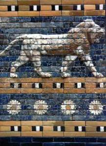 The Ishtar Gate and the Babylon_relief becomes the lion of Judah