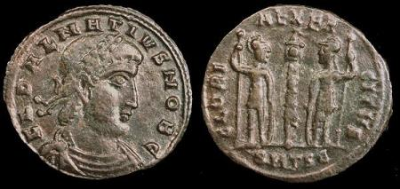 Constantine Dalmat Coin 336-7 AD ,No Jesus