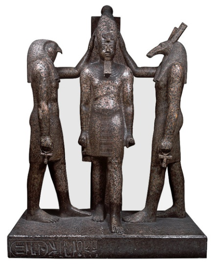 Horus and Set and Ramoses III
