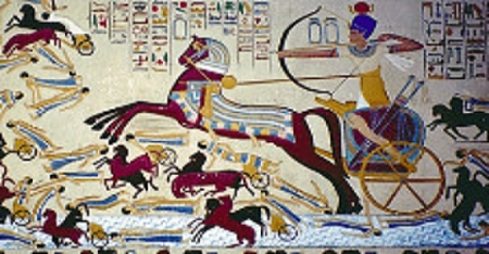 Hyksos Ahmose I battle