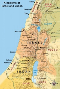 The claimed biblical kingdoms of judah and israel