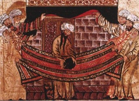 Mohammed places the Black Rock