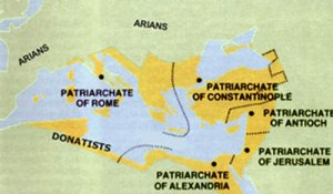 The 'Pentarchy': late 6th/early 7th century Christian rivals