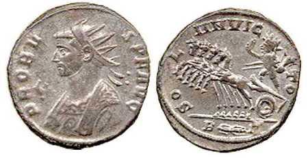 ProbusCoin with Sol Invictus c280