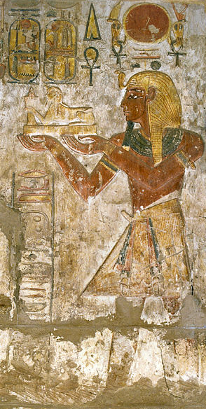 Ramesses III  Khonsu Temple Karnak