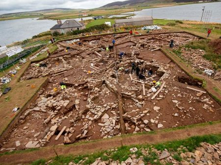 Ness of Brodgar is an archaeological site
