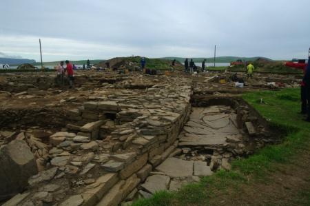 The excavations at ness of brodgar