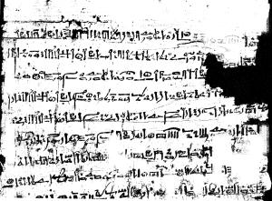 Wenamun-papyrus