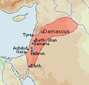 Kingdom of Hazael c840BC