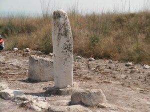 Yahwah Gezer phallic stone