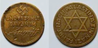 zionazi coin 1934