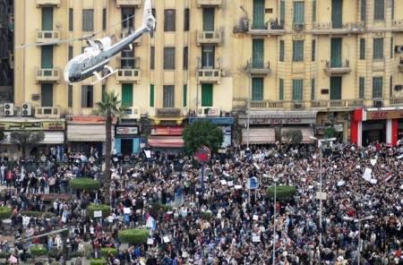 Mass protest in Ciaro