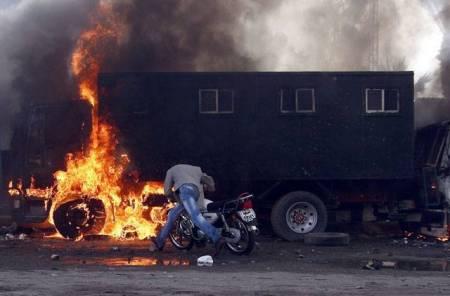 Ciaro's burning
