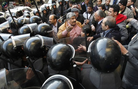 Protests continue , well done the Egyptian people