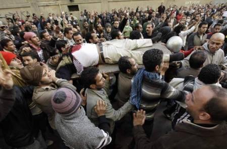 Police start killing protestors