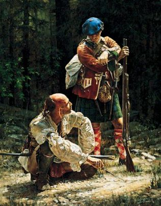 Image result for scottish highlanders american indians
