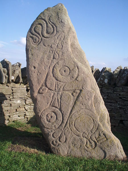 The Pictish Serpent Stone