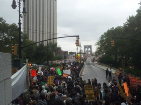 Brooklyn Bridge, Occupy Wall Street Demonstrators