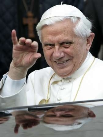 bye bye the Protector Of Paedophiles Everywhere (POPE)