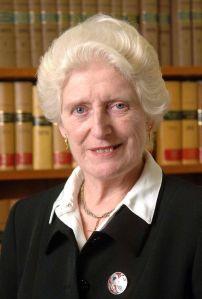 Former High Court judge Baroness Butler-Sloss