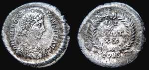 Constantinople c380AD Sol invictus Jesus christ still rules