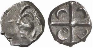 Celtic Gaul coin 100BC