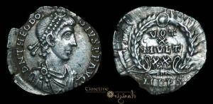 Milan coin c380AD
