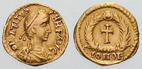 Avitus -Sol Invictus and Pagan Cross