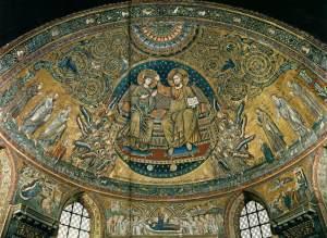 Triumphal arch mosaic